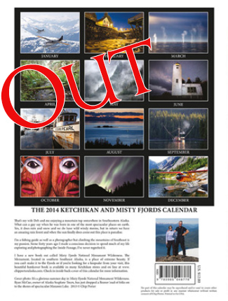 2014 Ketchikan and Misty Fjords Calendar